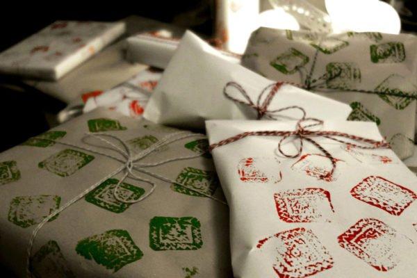 Carta regalo natale fai da te